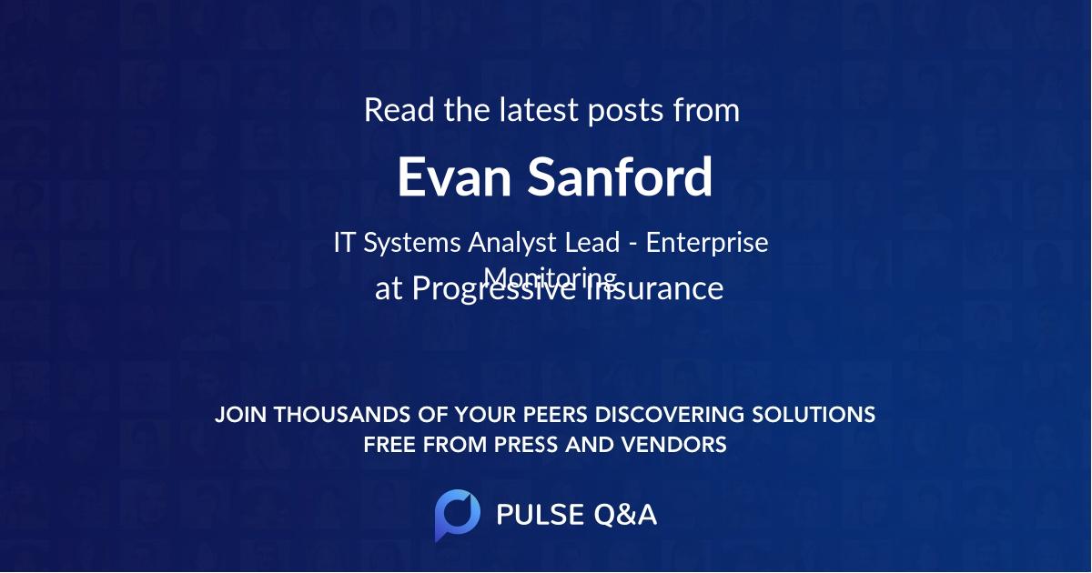 Evan Sanford