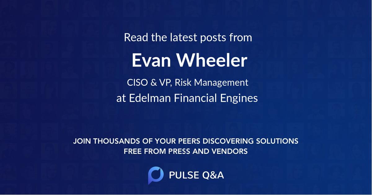 Evan Wheeler