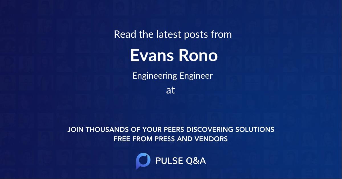 Evans Rono