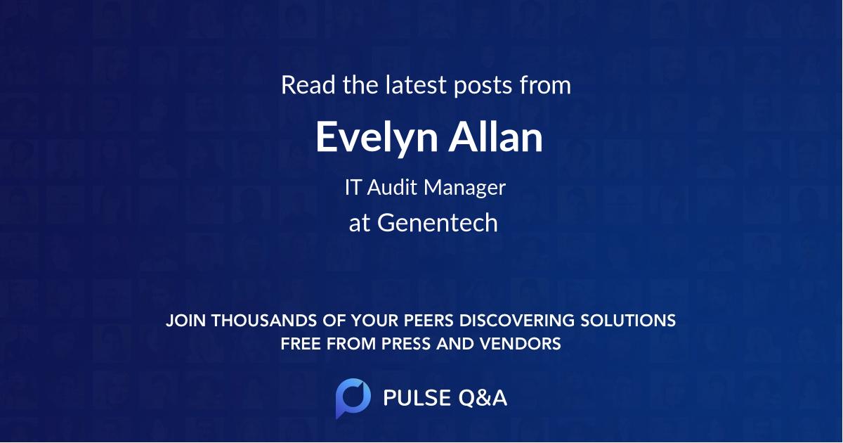 Evelyn Allan