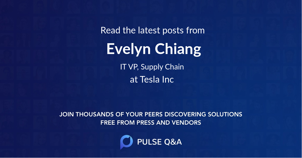 Evelyn Chiang