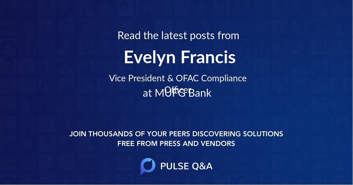 Evelyn Francis