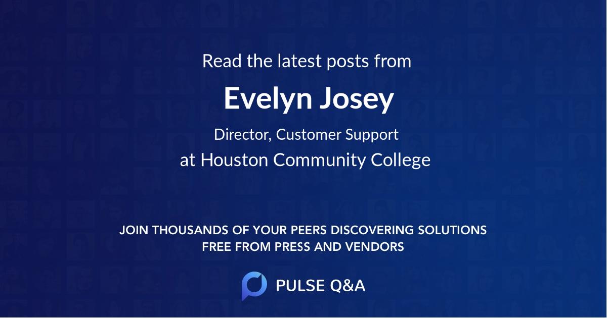 Evelyn Josey