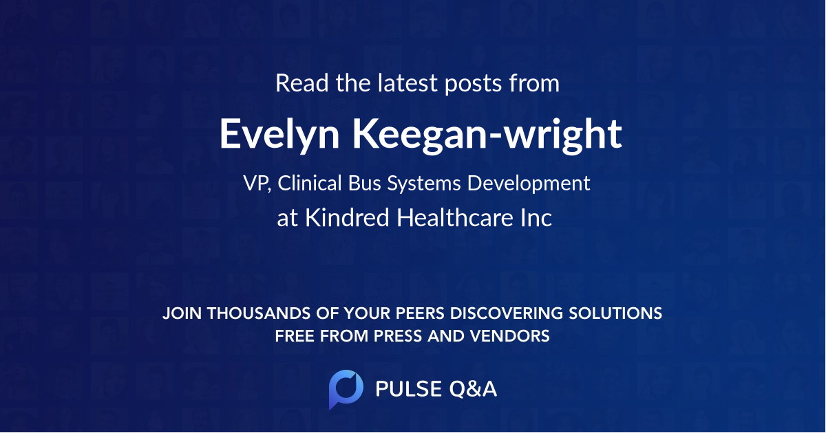 Evelyn Keegan-wright