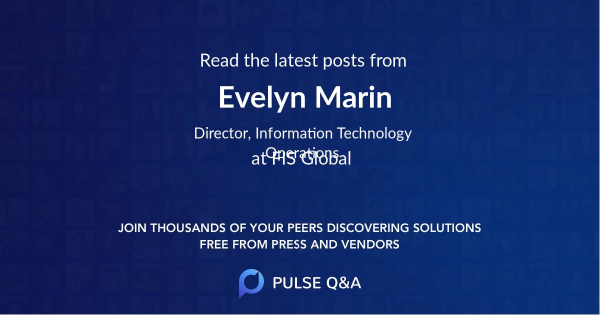 Evelyn Marin