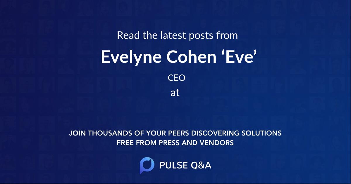 Evelyne Cohen 'Eve'