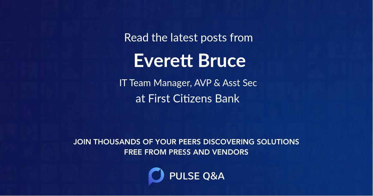 Everett Bruce