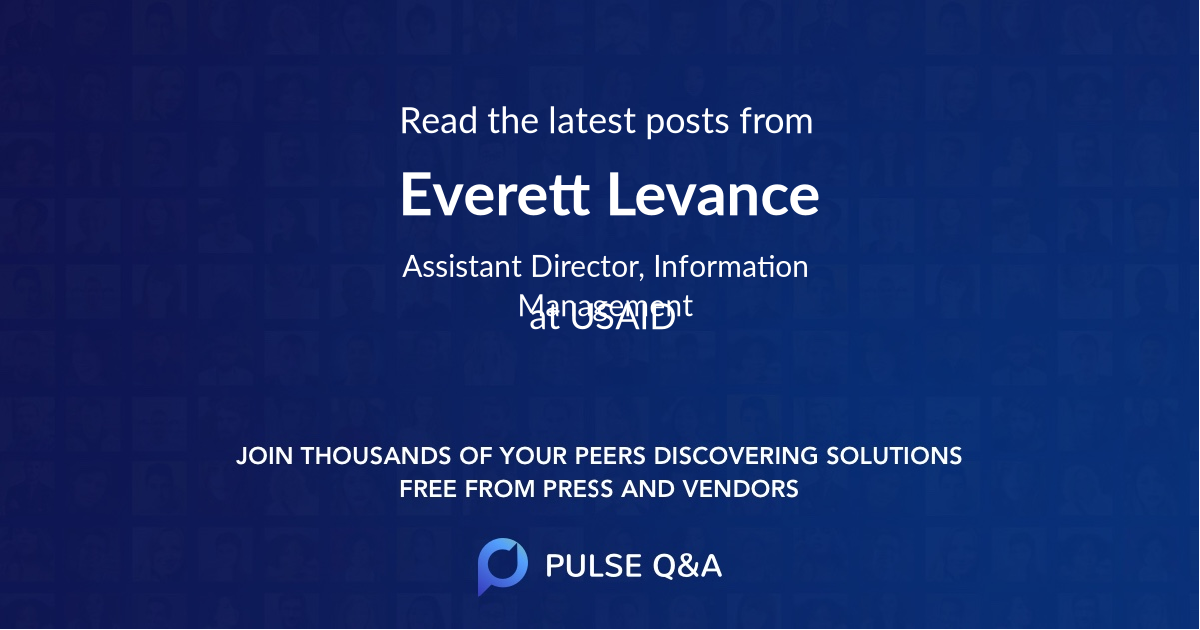 Everett Levance