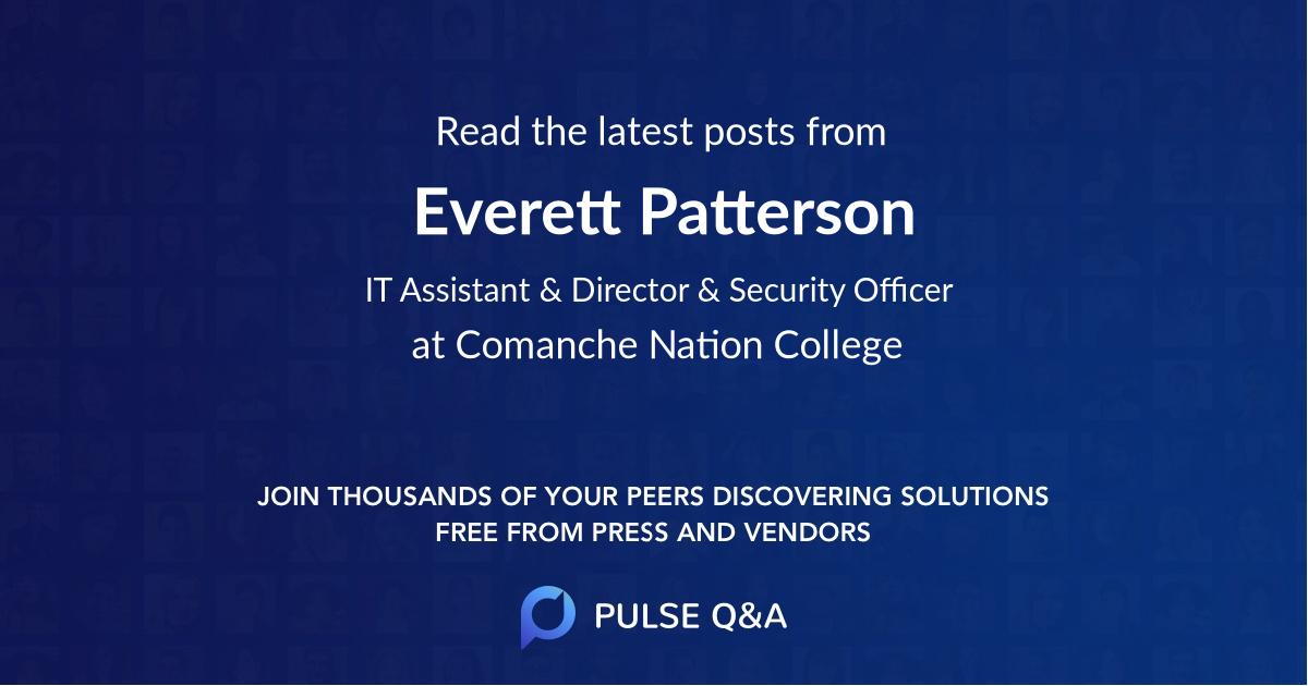 Everett Patterson