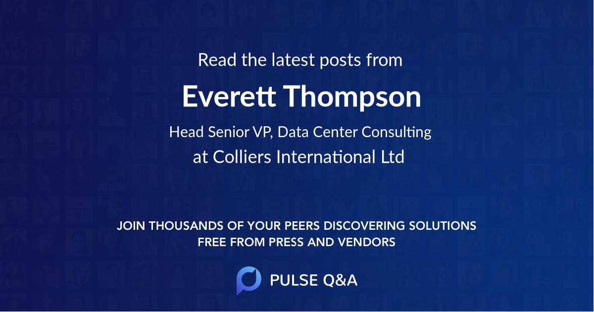 Everett Thompson