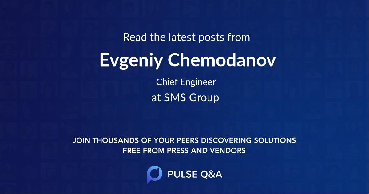 Evgeniy Chemodanov