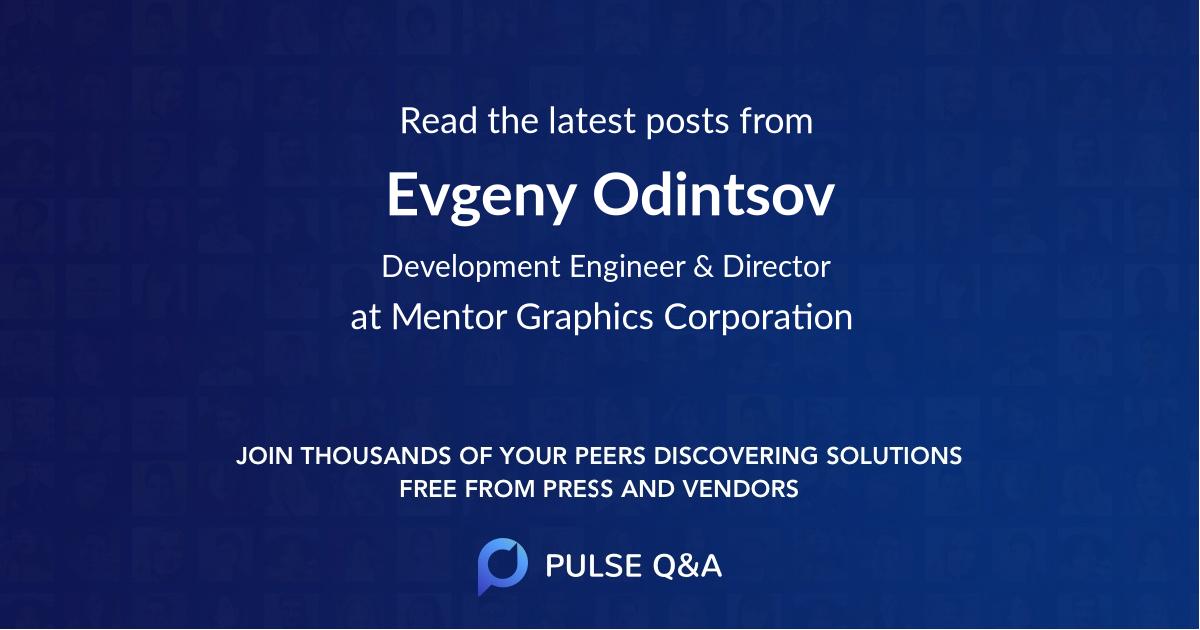 Evgeny Odintsov