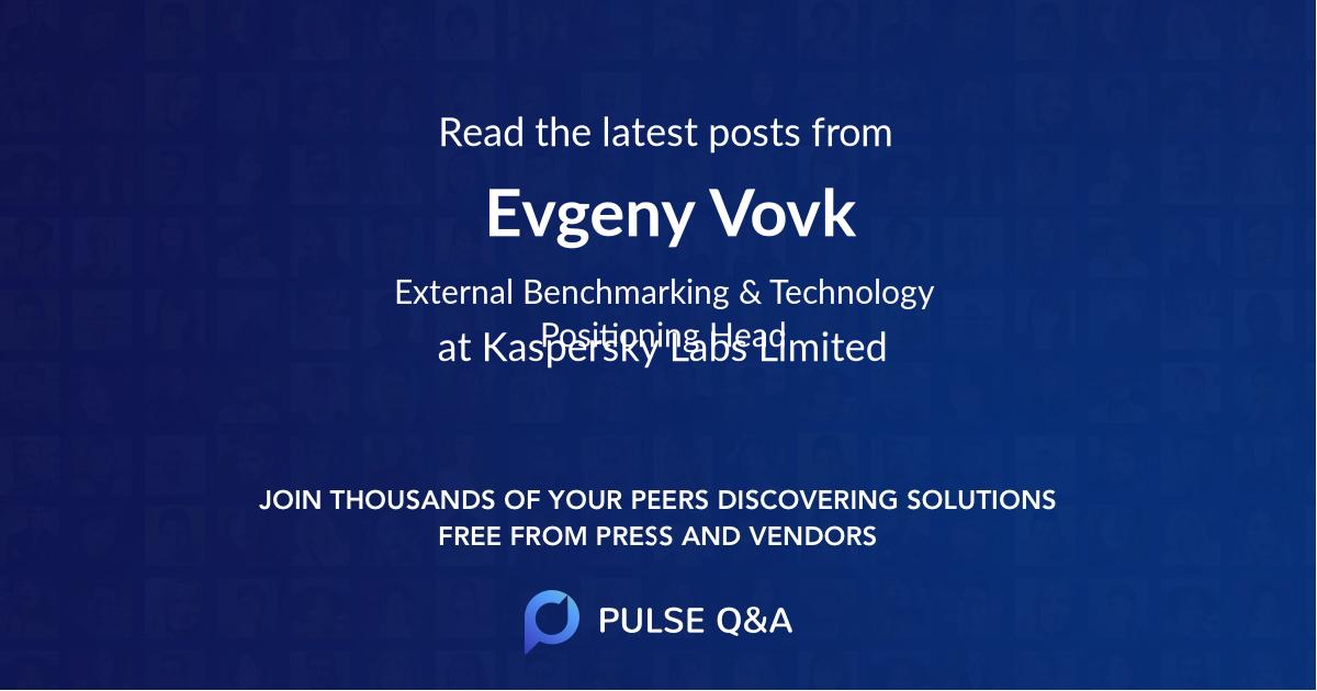 Evgeny Vovk