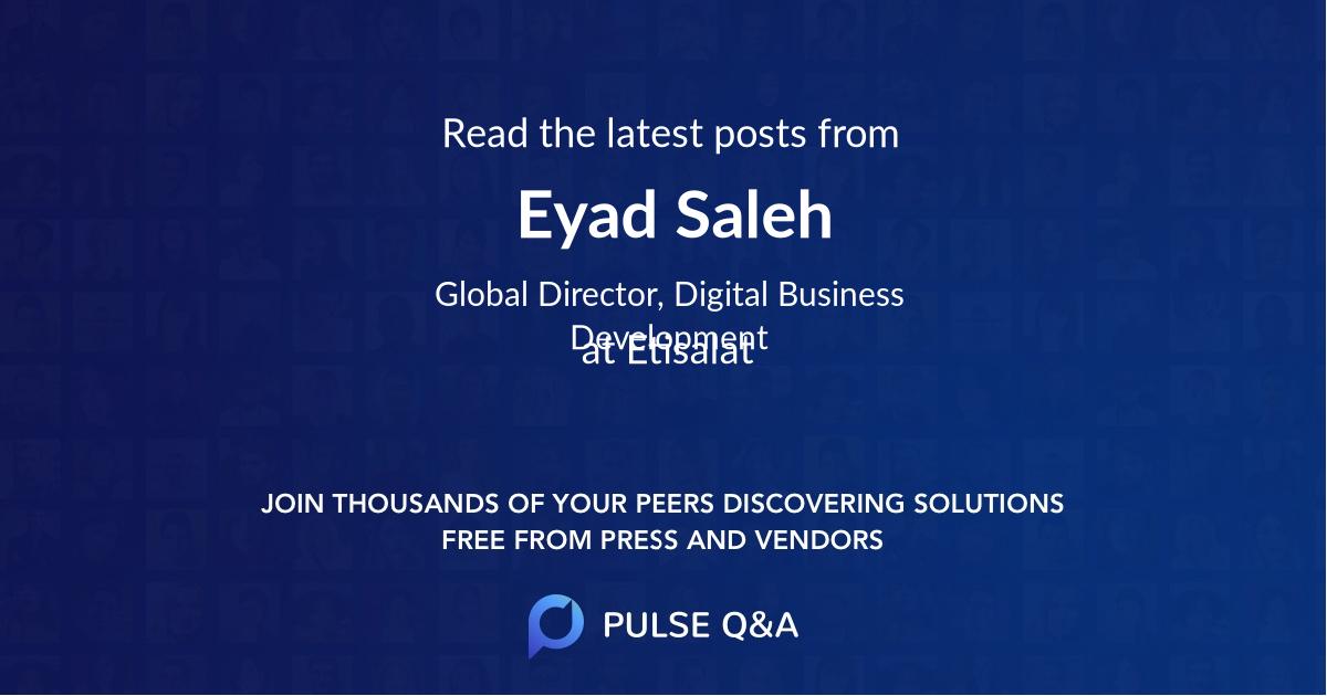 Eyad Saleh