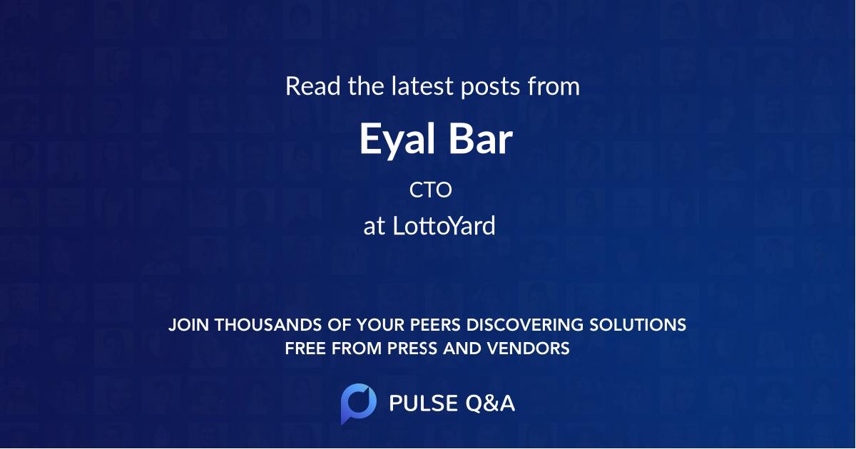 Eyal Bar