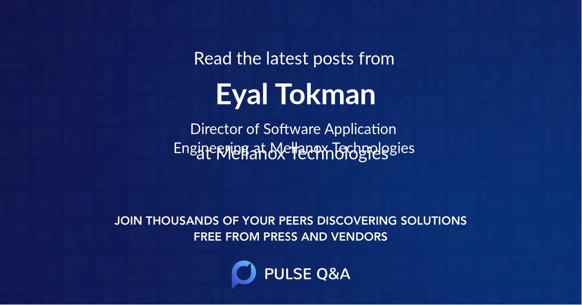 Eyal Tokman