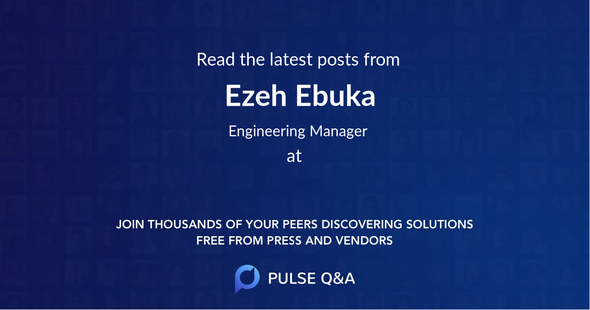 Ezeh Ebuka