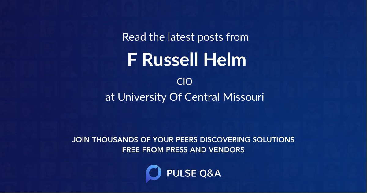 F Russell Helm