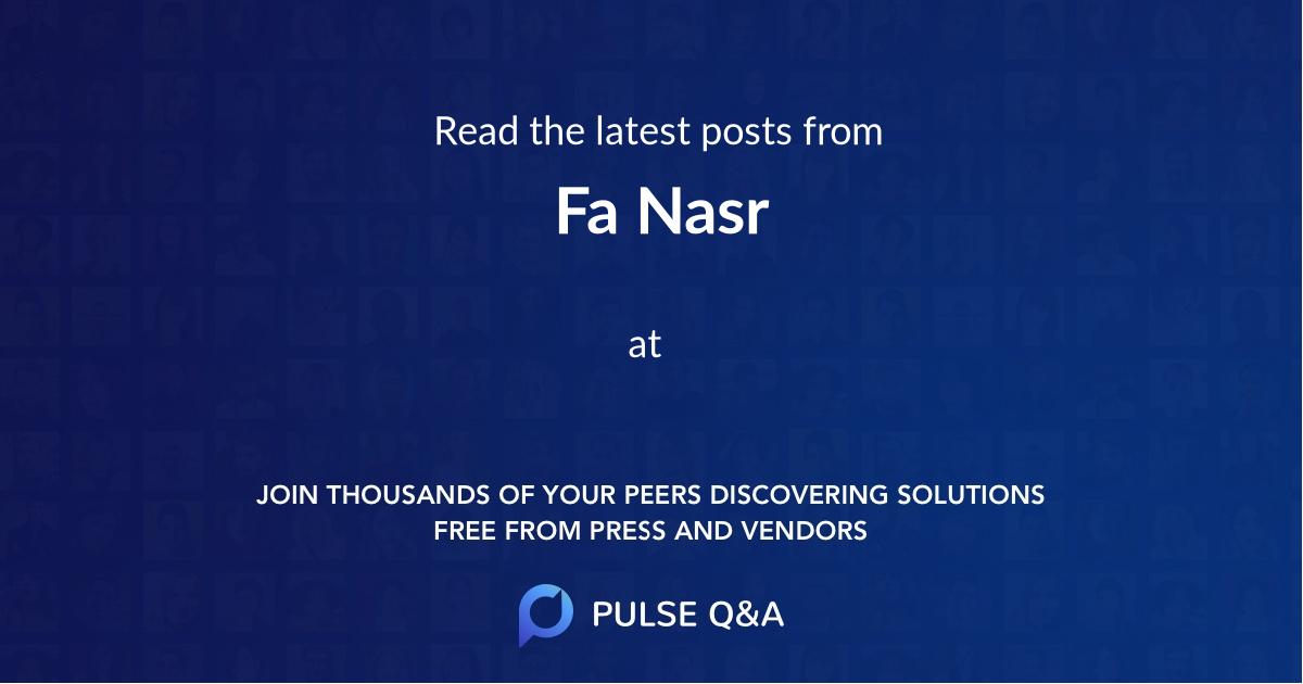 Fa Nasr
