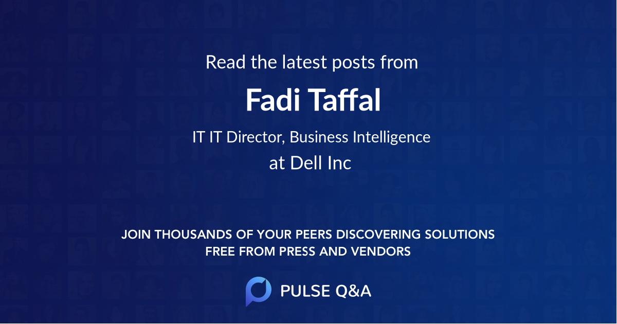 Fadi Taffal