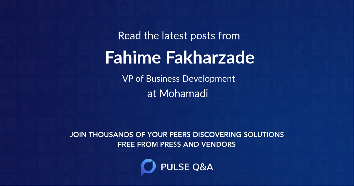 Fahime Fakharzade