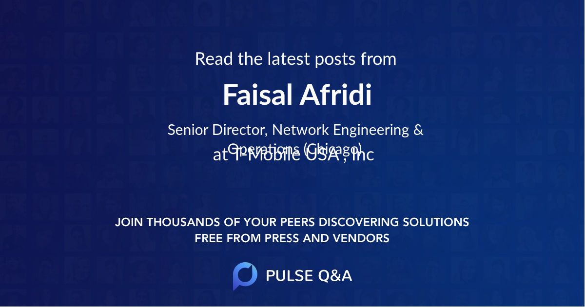 Faisal Afridi