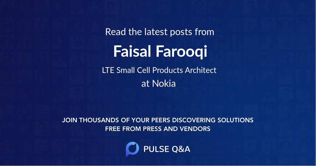 Faisal Farooqi