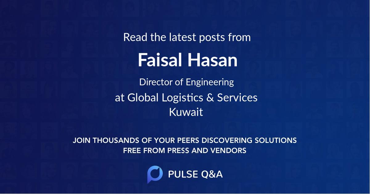 Faisal Hasan