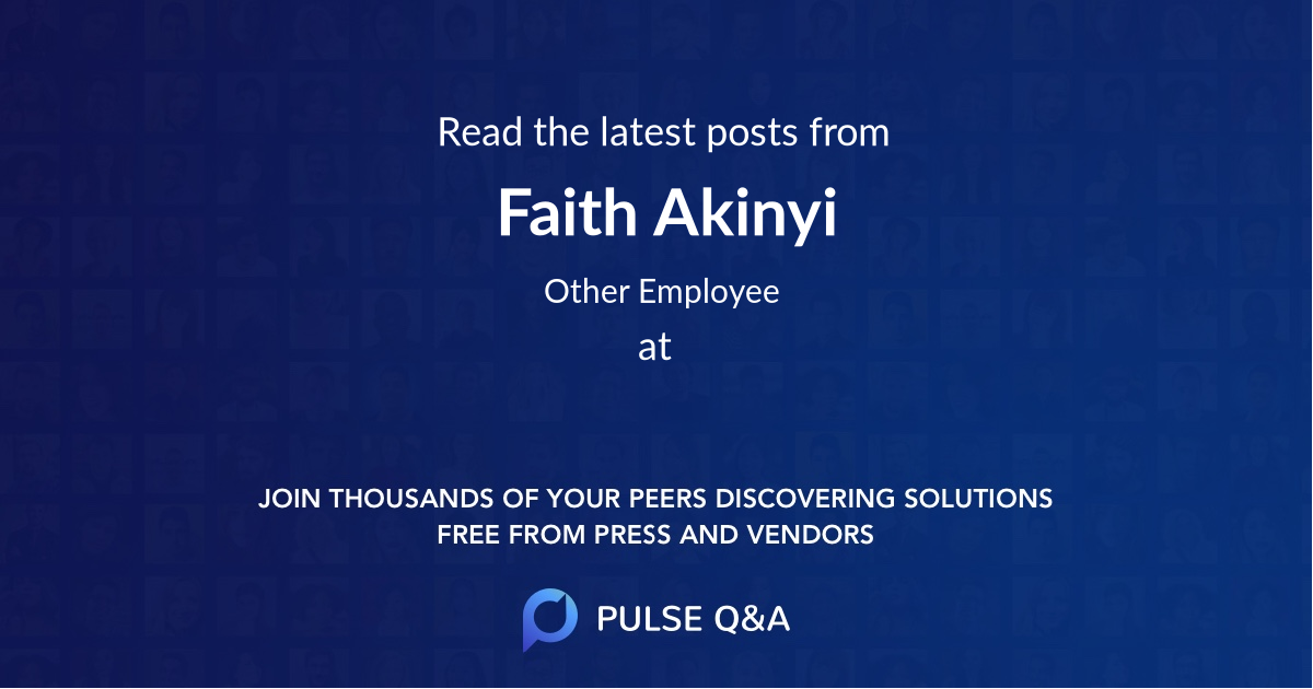 Faith Akinyi