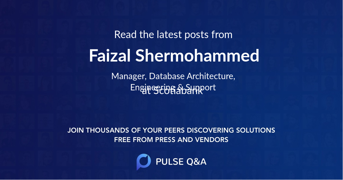 Faizal Shermohammed