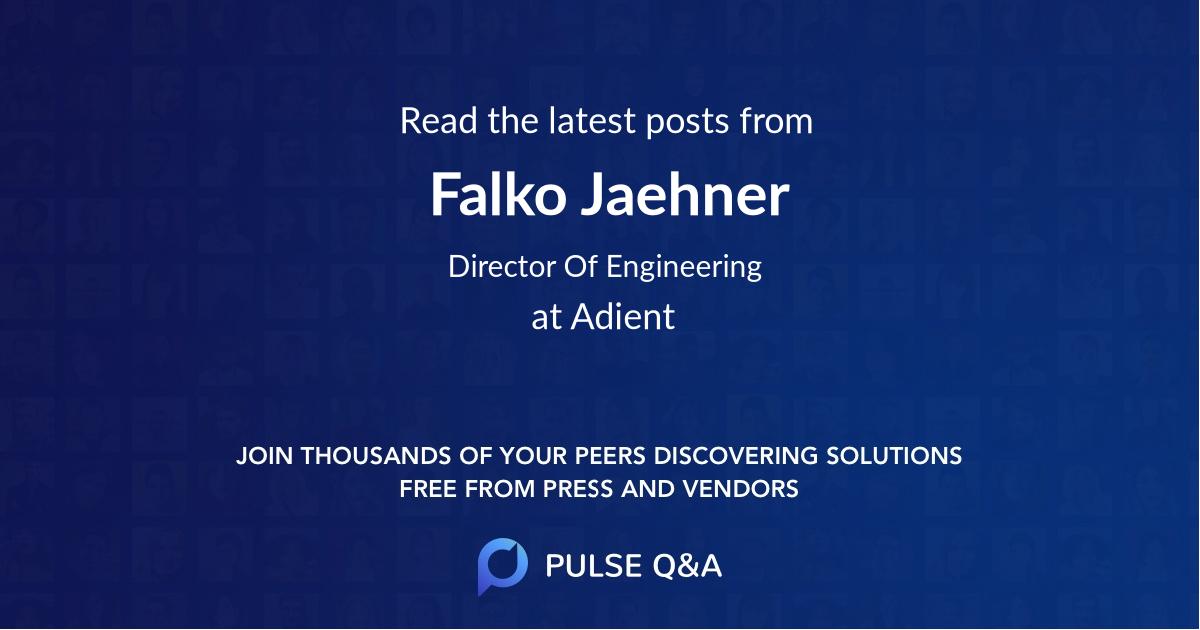 Falko Jaehner