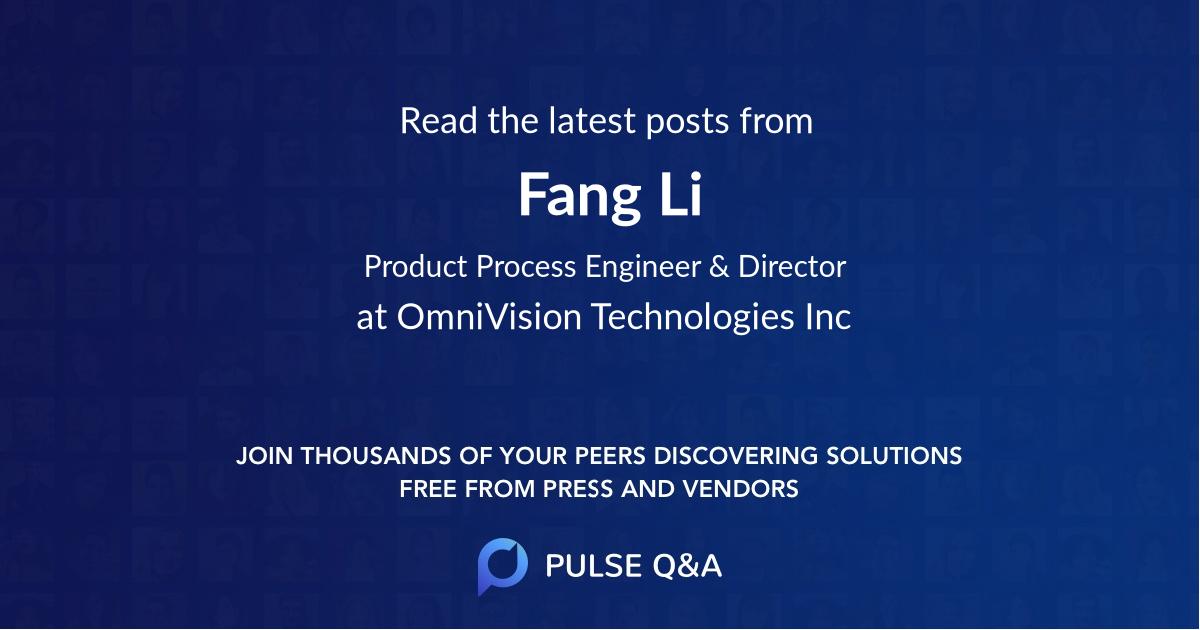Fang Li