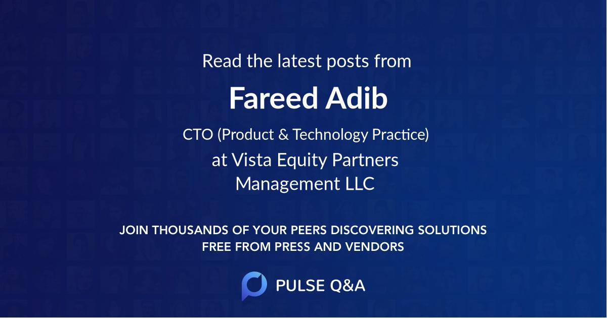 Fareed Adib