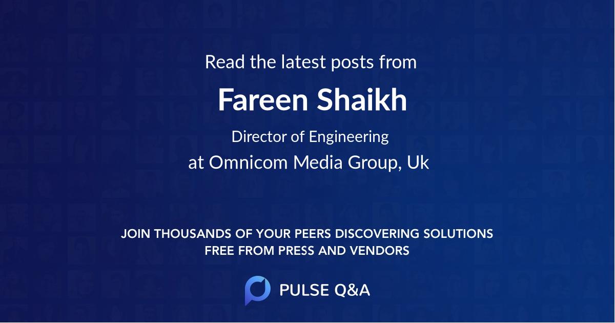 Fareen Shaikh