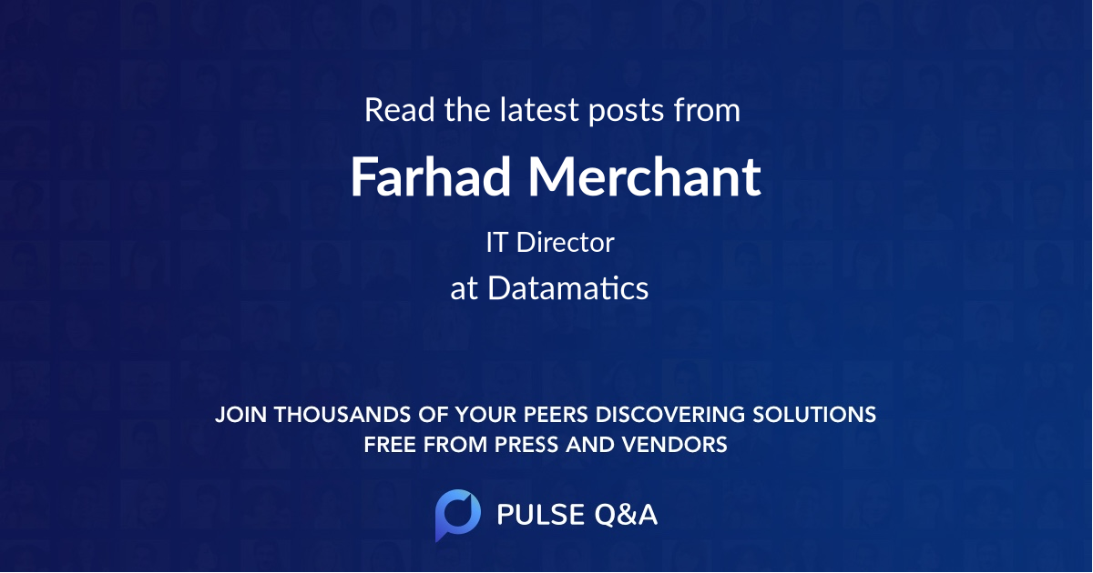 Farhad Merchant