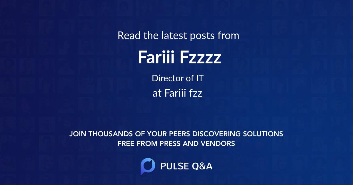 Fariii Fzzzz