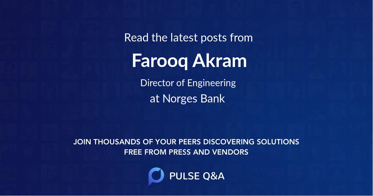Farooq Akram
