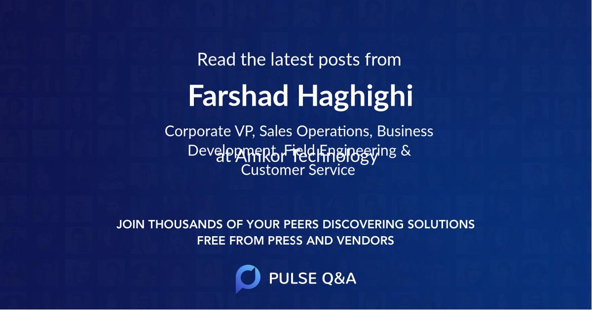 Farshad Haghighi