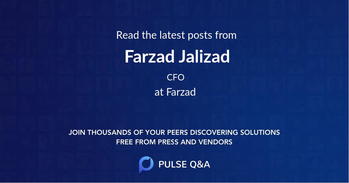 Farzad Jalizad