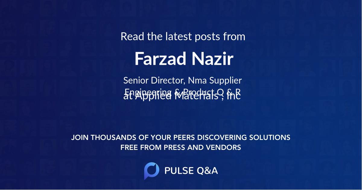 Farzad Nazir