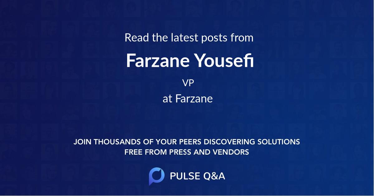 Farzane Yousefi