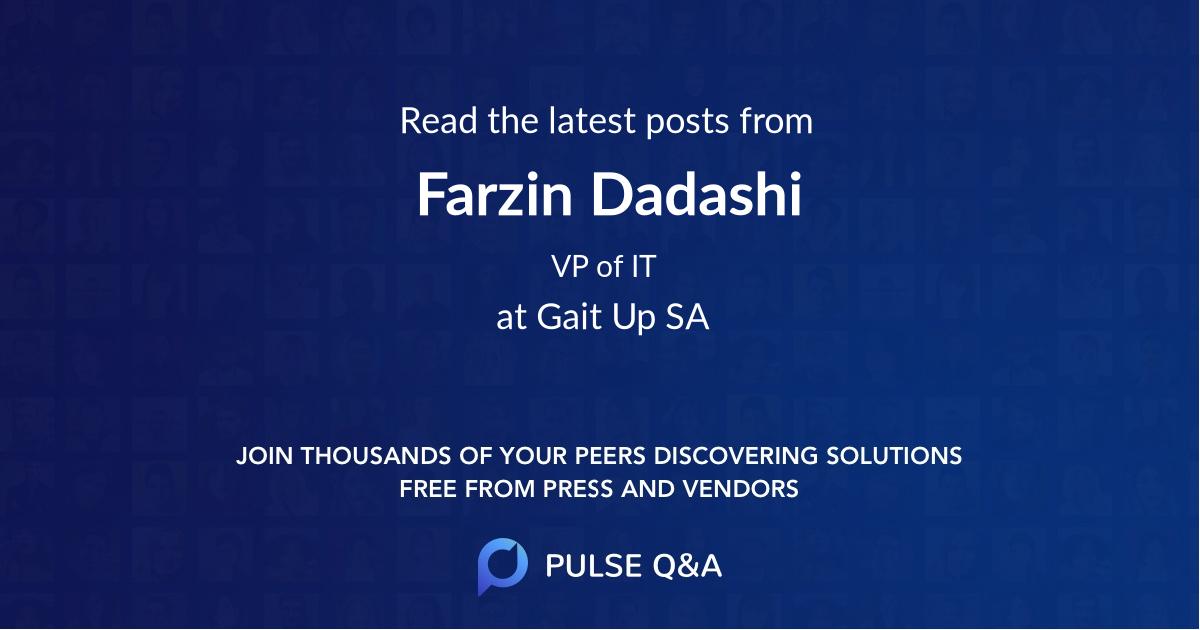 Farzin Dadashi