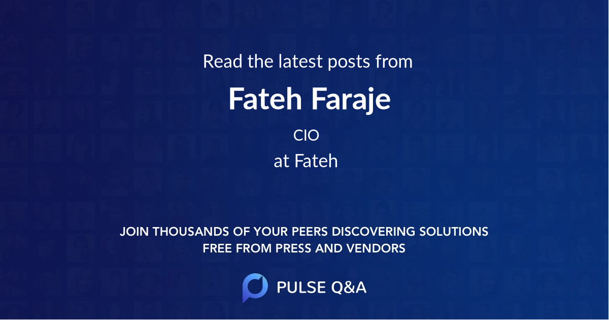 Fateh Faraje