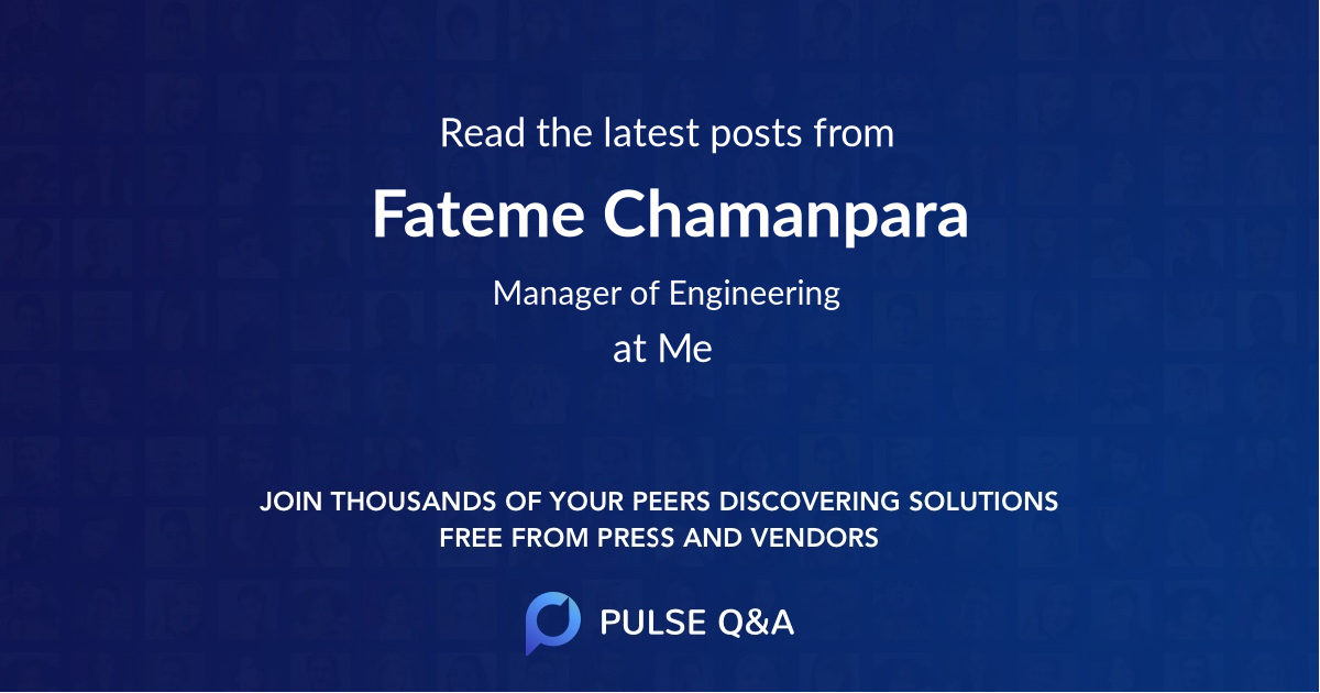 Fateme Chamanpara