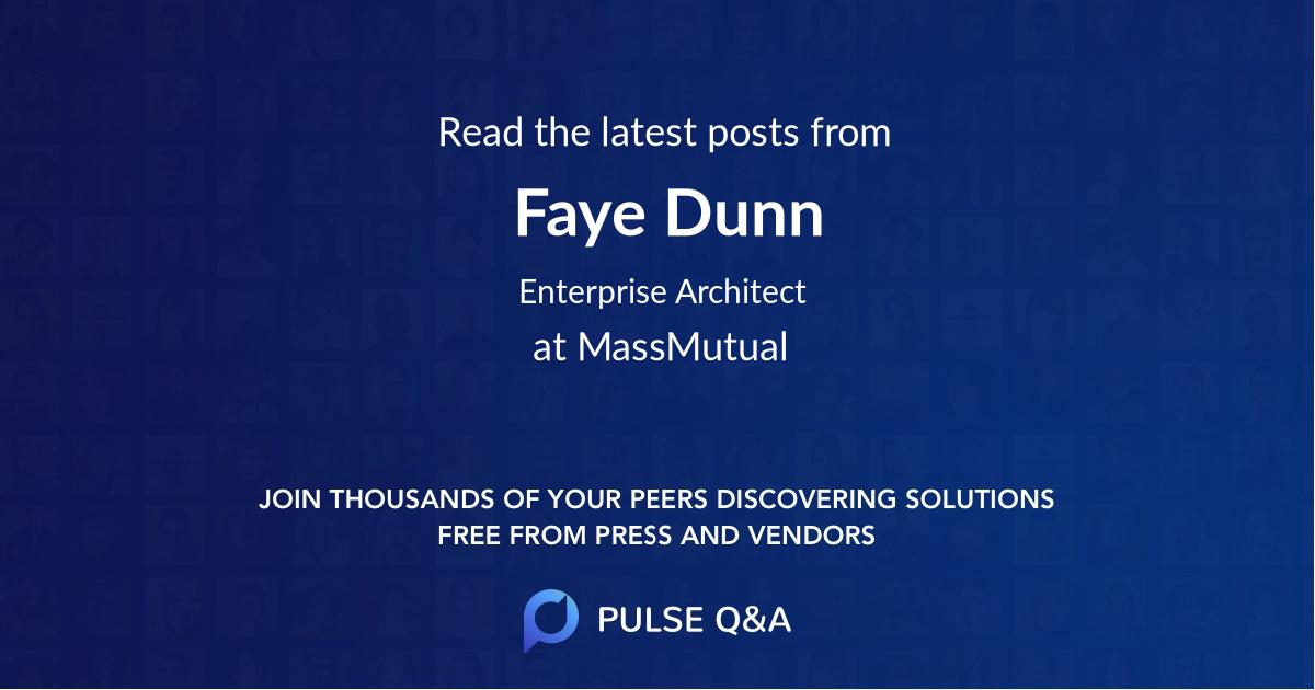 Faye Dunn