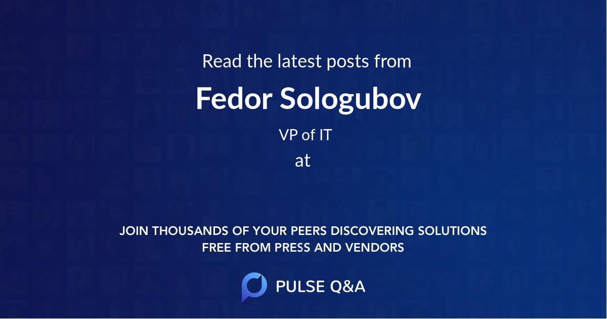 Fedor Sologubov