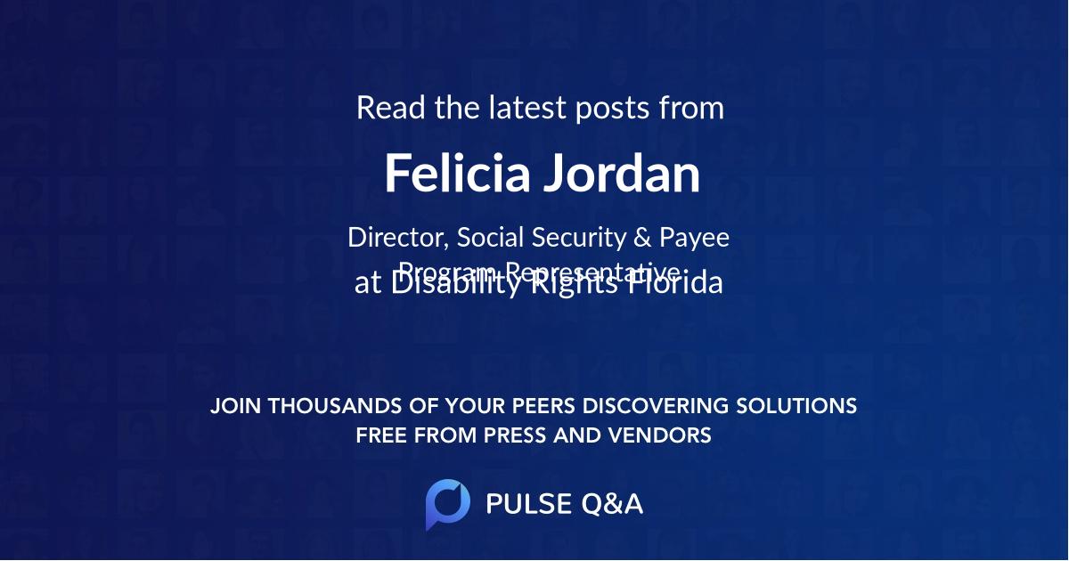 Felicia Jordan
