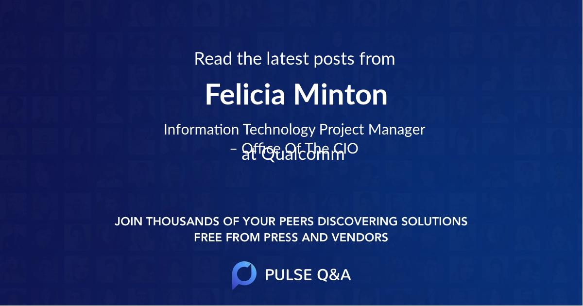 Felicia Minton