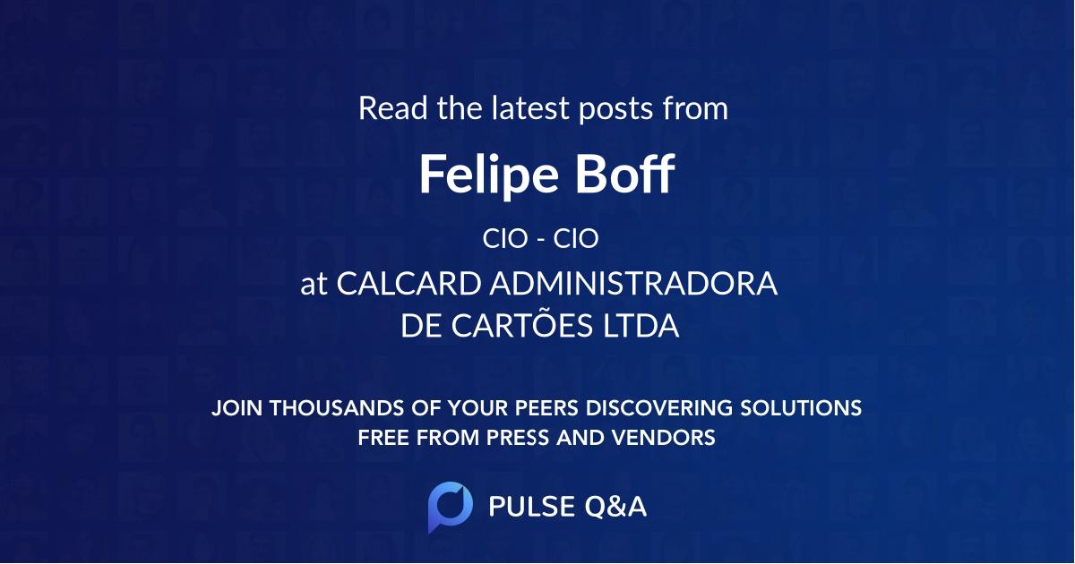 Felipe Boff
