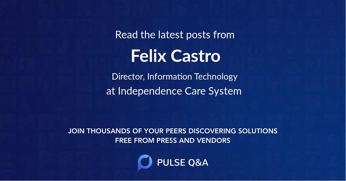 Felix Castro